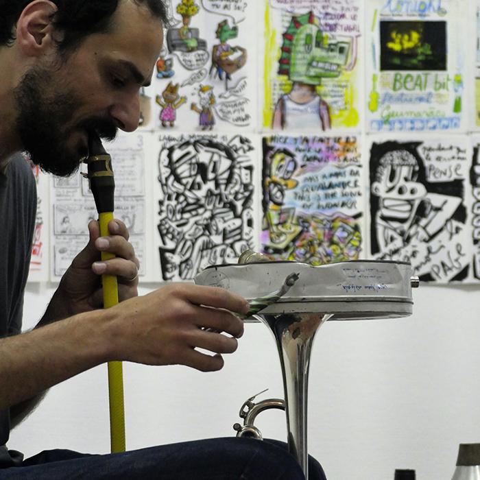 Café Beirut /// Mazen Kerbaj
