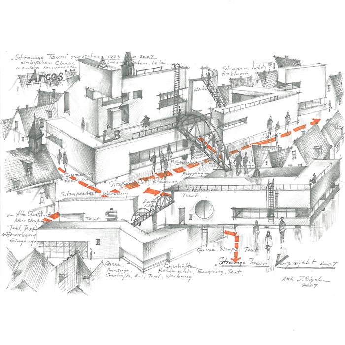 Josef Sigalov & Elena Riazanova /// Im Kopf des Architekten