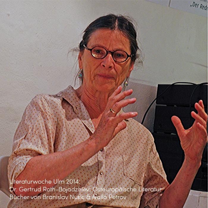 Literaturwoche Ulm 2014 im Griesbad